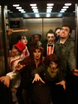 People in Elevator