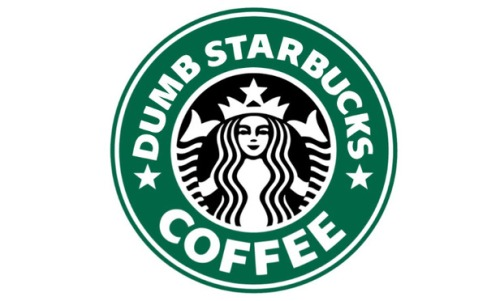 Dumb Starbucks Logo