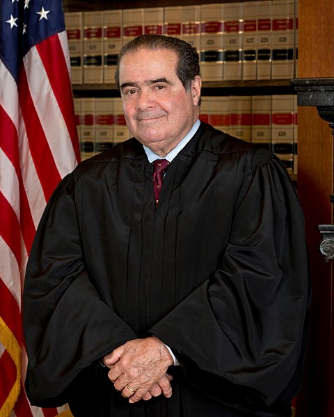 Antonin Scalia, Associate Justice of the United States Supreme Court 1936-2016